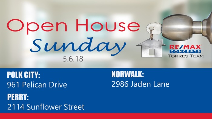 open house 5.6.18