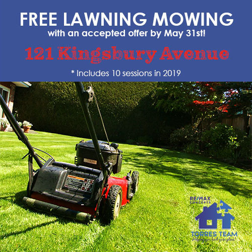 free lawn mowing